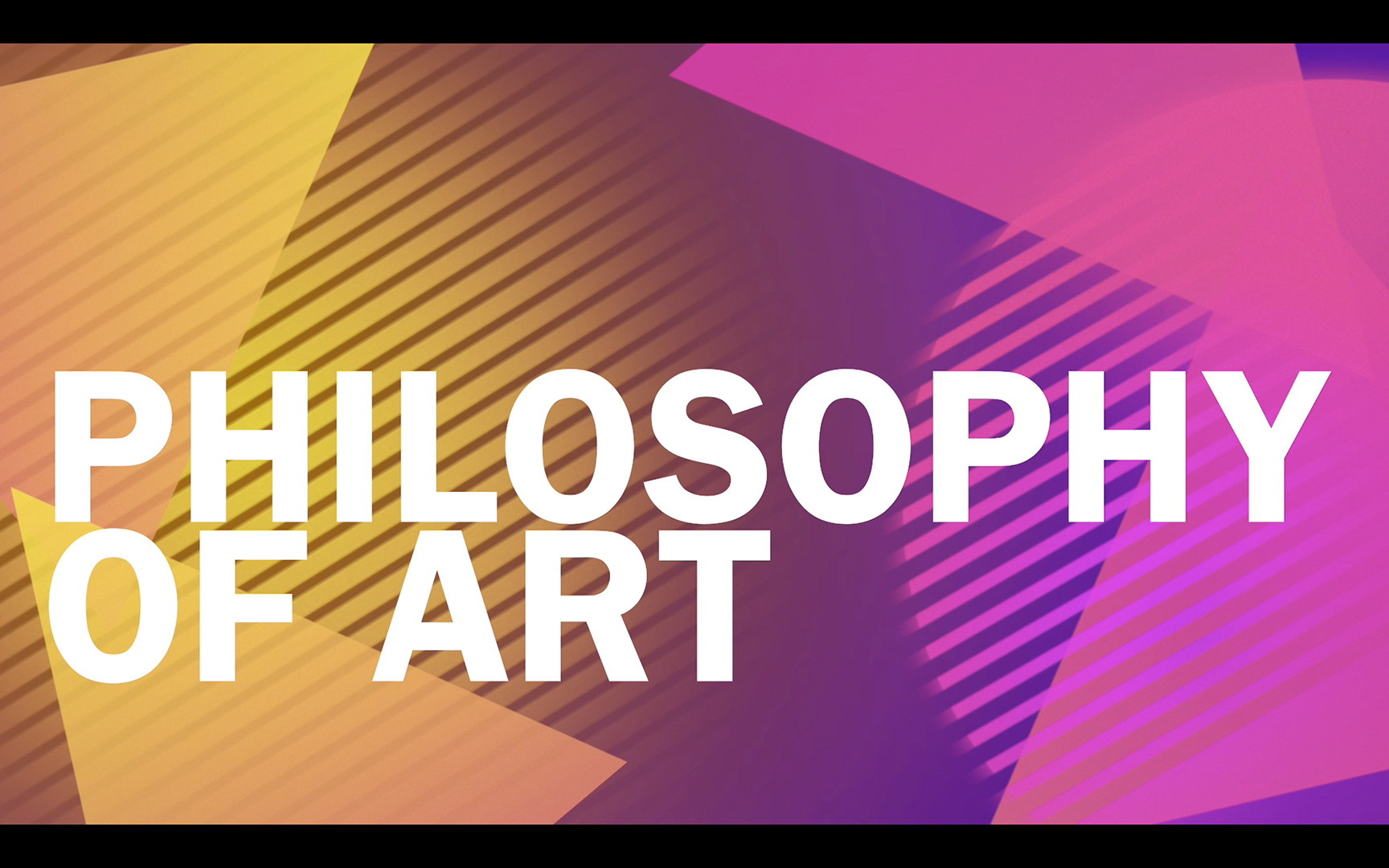 Philosophy of Art: Artist Intention