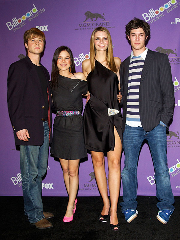 Ryan, Marissa, Summer, and Seth - The OC