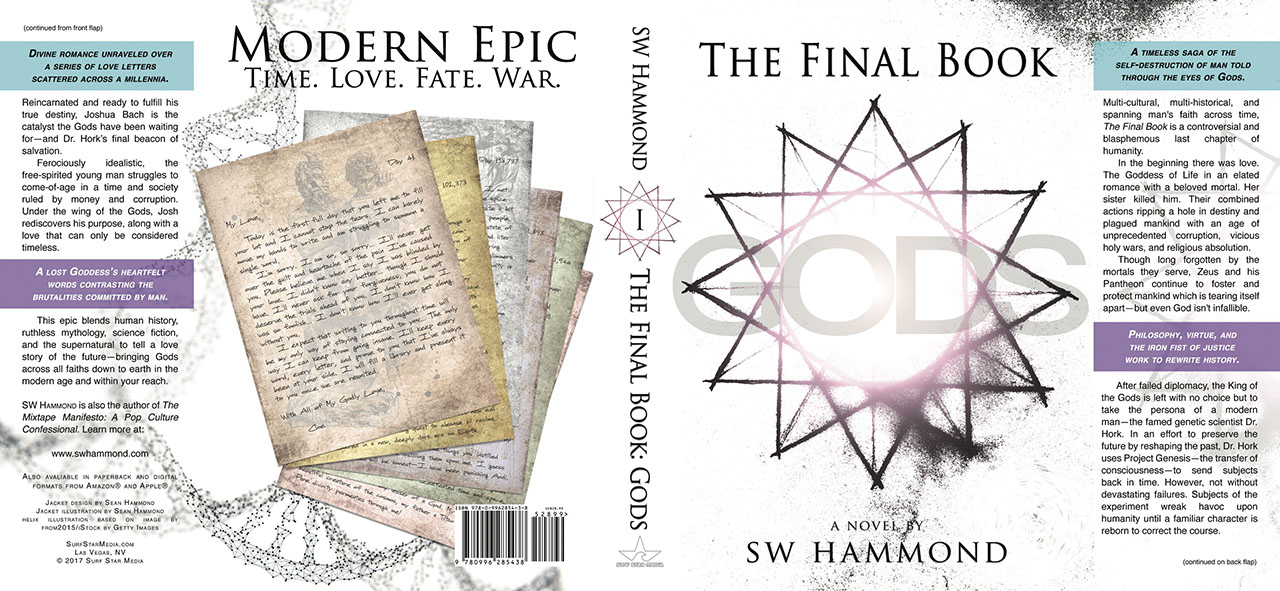 Front and Back Cover of The Final Book: Gods