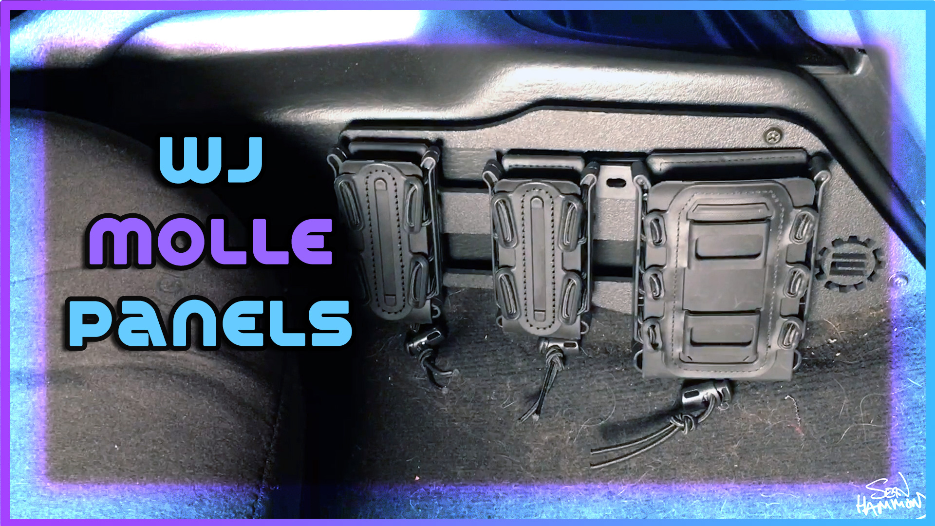 Jeep WJ Center Console Molle Panels