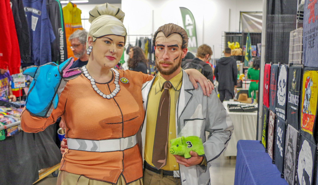 Pam & Krieger from Archer Cosplay